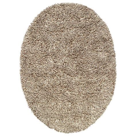 oval shag rug home decorators collection ultimate shag cookies and 5 ft x 7 ft oval area rug