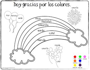 thanksgiving coloring page in spanish spanish thanksgiving vocabulary coloring pages spanish