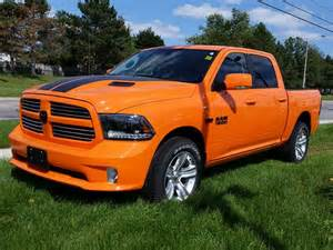 2015 dodge ram 1500 orange sport crew cab 4x4 milton