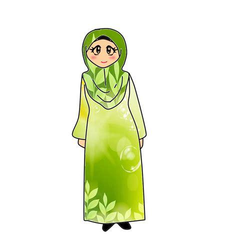 freebies mulut doodle bicara freebies doodle muslimah berjubah