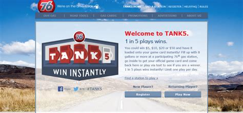 Take 5 Instant Win - tank5 promotion discontinued sweepstakes lovers