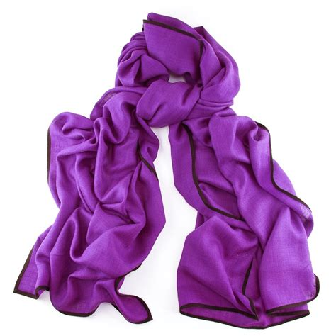 Scarf Purple s scarf scarf with silk purple wrap