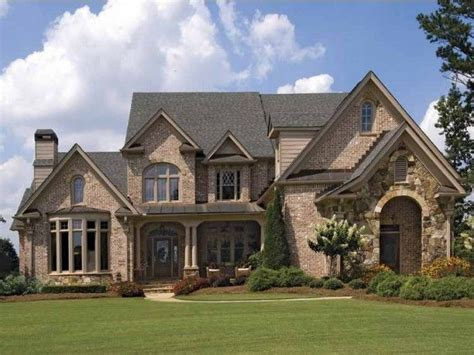 one story french country house plans with stone country floor plan 2 story 4 bedroom bonus room all 4 bedrooms