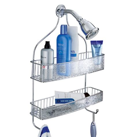 Hanging Bathroom Shower Caddy Hanging Shower Caddy In Shower Caddies