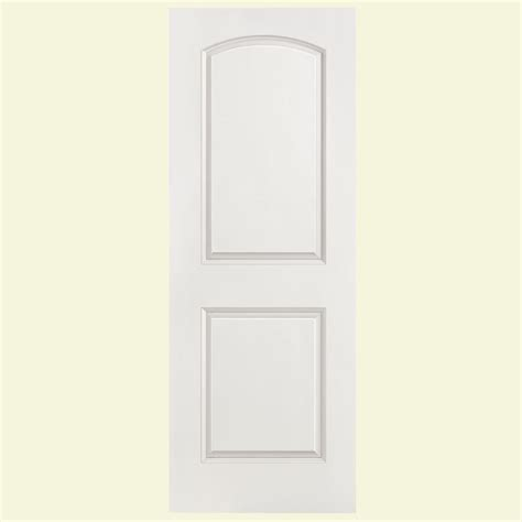 home depot 2 panel interior doors masonite 28 in x 80 in solidoor roman smooth 2 panel