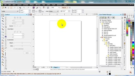 corel draw x5 has stopped working windows 7 roland color palette in corel draw x5 and x6 youtube