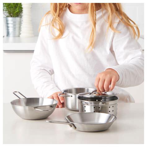ustensiles cuisine enfant duktig ustensiles cuisson enfant 5 pi 232 ces couleur acier