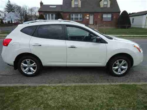 2010 nissan rogue white buy used 2010 nissan rogue sl sport utility 2 5l white awd