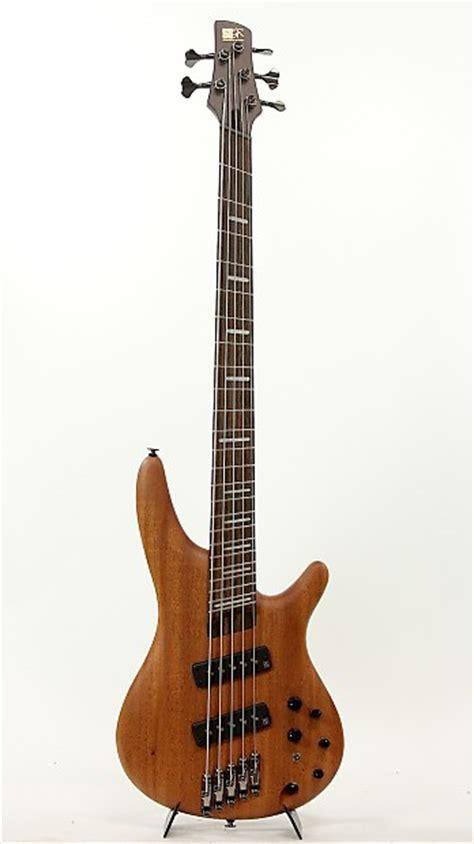 ibanez fanned fret bass ibanez srff4505 sol bass fanned fret stain oil bass guitar