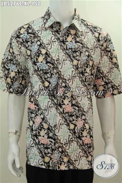 Hem Pendek Ayunda Parang Busana Batik Ukuran Xl Model Hem Lengan Pendek Baju Batik