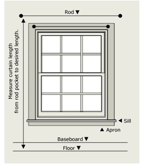how to measure curtain size 17 best images about curtain diy on pinterest window