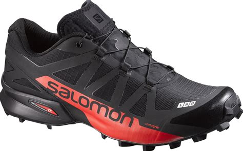 boots running time trail shoes salomon s lab speedcross black racing