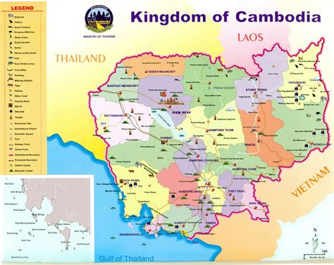 cambodia in the world map maps of cambodia detailed map of cambodia in