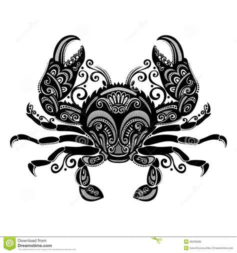 vector sea crab stock vector image of fish food pincers