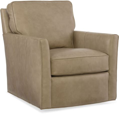 beige leather chair mandy beige swivel leather club chair from