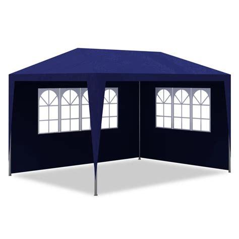 Tenda 3 X 4 tenda para festa em azul 4 paredes 3 x 4 m www vidaxl pt