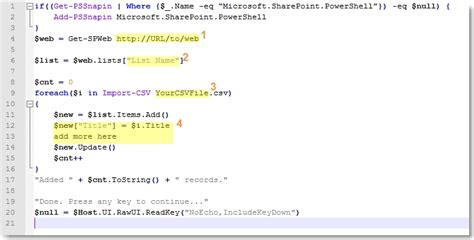 format csv in powershell loading sharepoint lists from excel using powershell