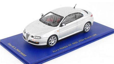 Diecast Alfa Gt white 1 43 scale diecast alfa romeo gt model ar1t019 ezbustoys