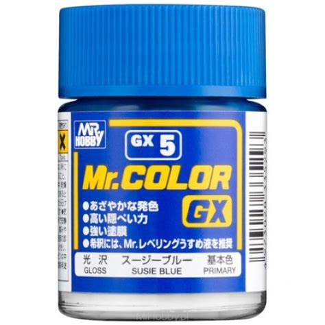 Mr Color Mr Hobby 3 mr color gx5 susie blue