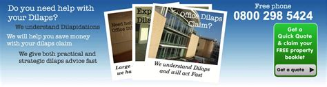 dilapidations section 18 dilaps help offices dilaps help