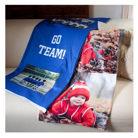 Customized Blankets With Photos by Photo Personalized Fleece Blankets Fleece Collage