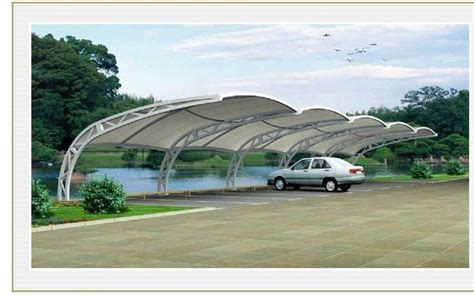 cer awning lights sale anti snow prefab light steel structure movable pc car