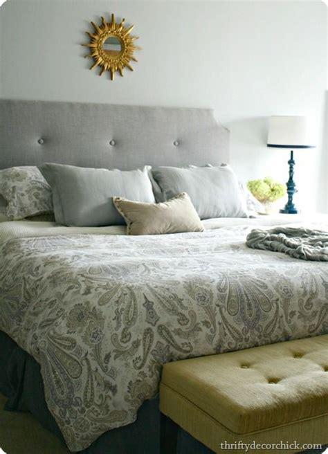paisley headboard diy glossy blue master bedroom l diy master bedroom