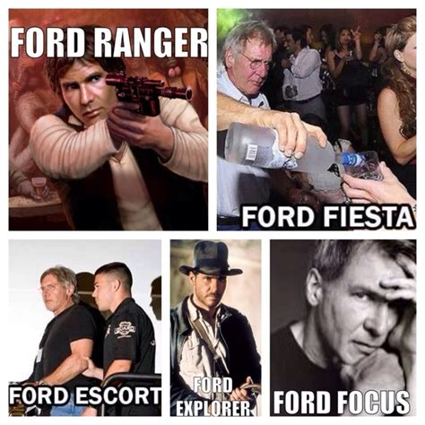 Harrison Ford Meme - harrison ford ranger meme guy