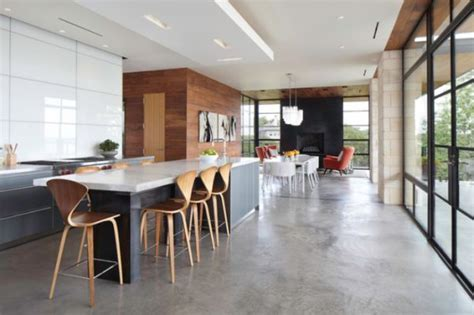 concrete floors both a statement and a functional choice for modern homes