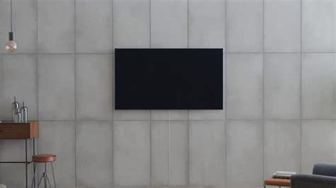 samsung qled tv   gap wall mount installation youtube