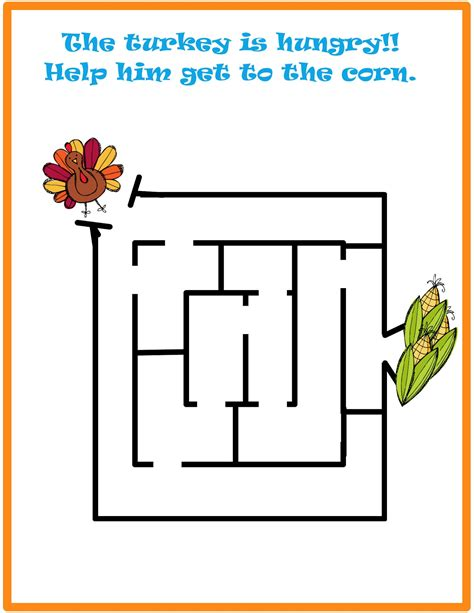 printable corn maze easy maze game for kids new calendar template site