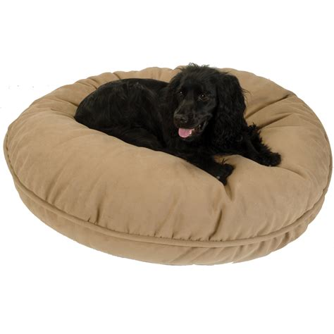 pillow dog bed replacement cover snoozer round pillow dog bed snoozer