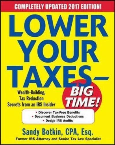 deduct it lower your small business taxes books lower your taxes big time book helps small business