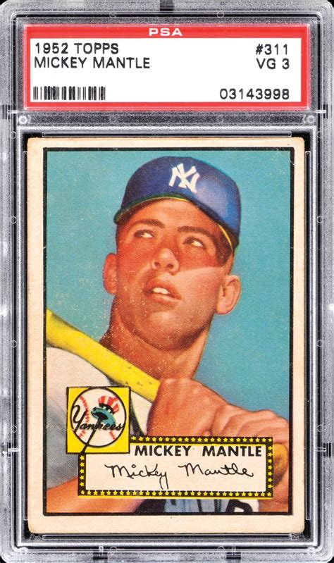 what makes a baseball card valuable investing in mickey mantles and other blue chip baseball