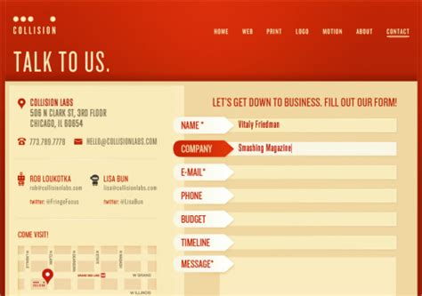 form design guidelines useful ideas and guidelines for good web form design