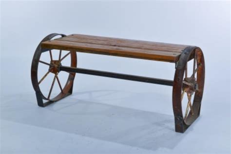 wheel bench wagon wheel bench 28 images wagon wheel garden bench