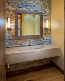 Modern Bathroom Vanities Canada - lakeshore mansion custom concrete vanity with integral sink rustic bathroom other by vc