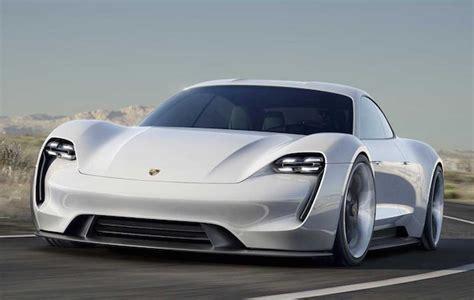 Electric Car Competitor To Tesla Porsche Unveils All Electric Tesla Competitor Car