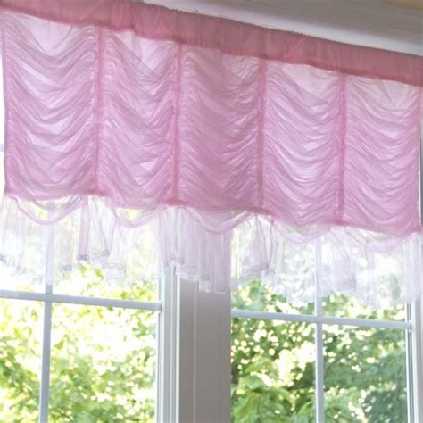 pink balloon curtains ruched curtain