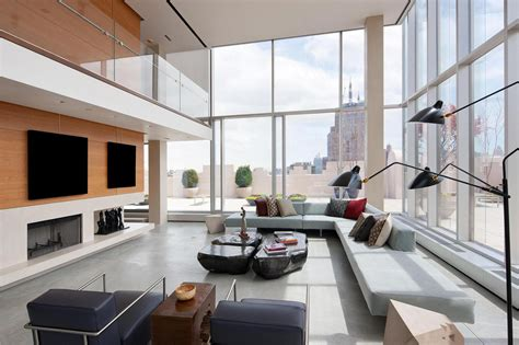 modern penthouses the ultimate manhattan penthouse in tribeca idesignarch