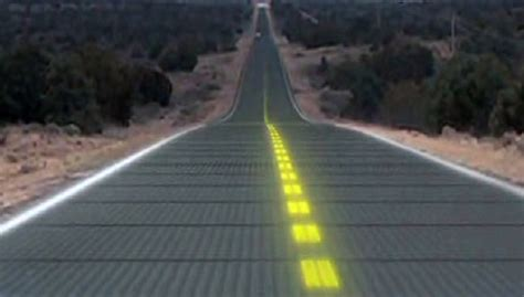 Eco Friendly Home Plans by This Solar Road Will Provide Power To 5 Million People