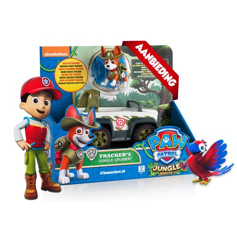 speelgoed paw patrol paw patrol racer tracker s jungle cruiser