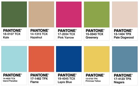 pantone spring 2017 colors 2017 color trends pantone pantone color swatches fashion