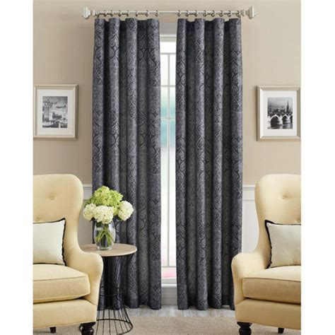 better homes and gardens distressed curtain panel
