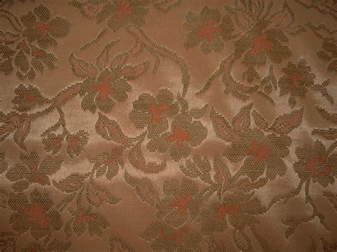 vintage tapestry upholstery fabric vintage drapery upholstery tapestry brocade fabric coral