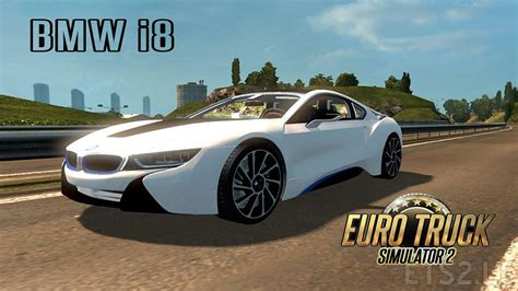 bmw v6 bmw i8 v6 new hybrid sound ets 2 mods