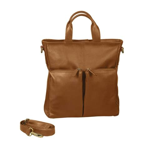 Convertible Backpack leather convertible tote backpack by winn international