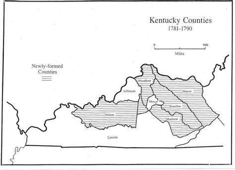 kentucky map 1800 virginia in maps 1634 1895