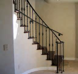 Iron Stair Railing Inspiring Wrought Iron Stair Rails 3 Wrought Iron Stair