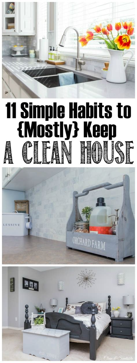 11 daily habits to keep a house clean and tidy clean and